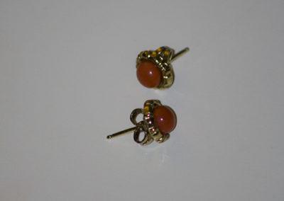 Blutkoralle 585 Gelbgold