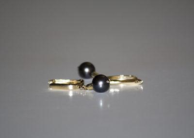 Akoya-Perle mit Brisuren 585 Gelbgold